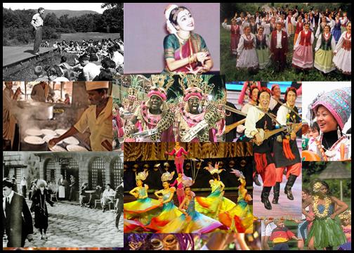Folk culture preserving human values