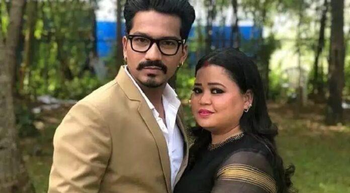 bharti husband aresst