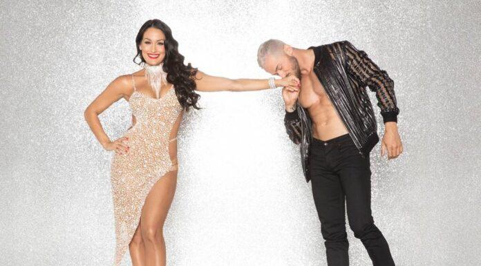 wwe divas nikki bella in dancing with stars